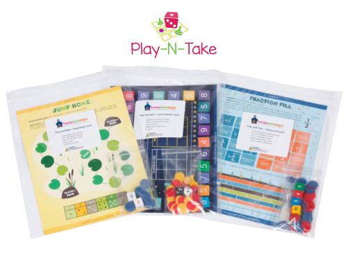 Play-N-Take leveled game packets
