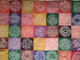 Picture of completed Snowflake Quilt project