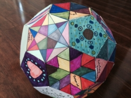 Picture of completed Soccer Ball project