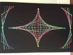 Picture of completed String Art project
